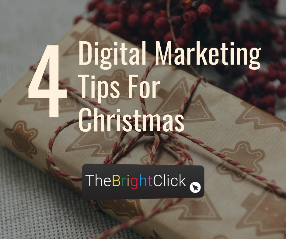 4 Digital Merketing Tips For Christmas